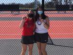 Varsity Tennis Medals at BISD Tournament