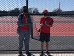 JV Tennis Competes in BISD Tournament