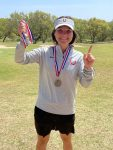 Tiffany Lange Wins 19-4A Golf Championship
