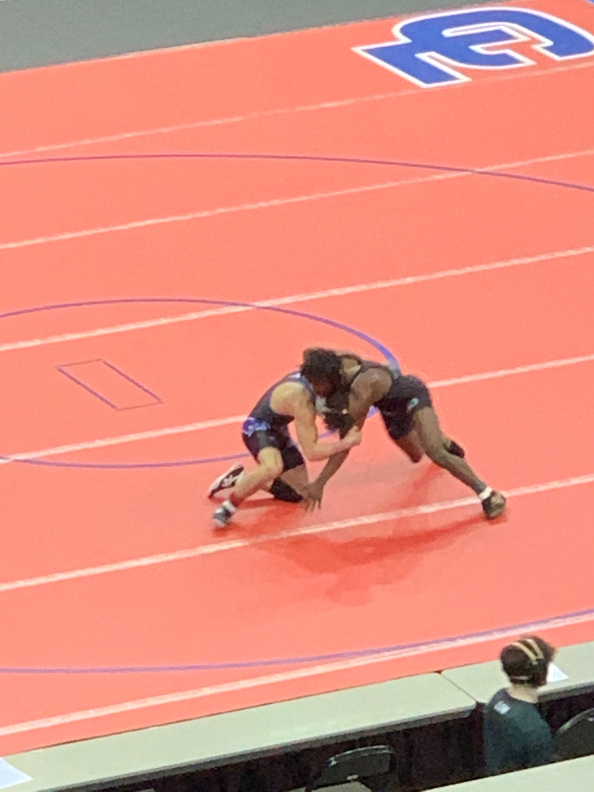 Day 1 of State Wrestling