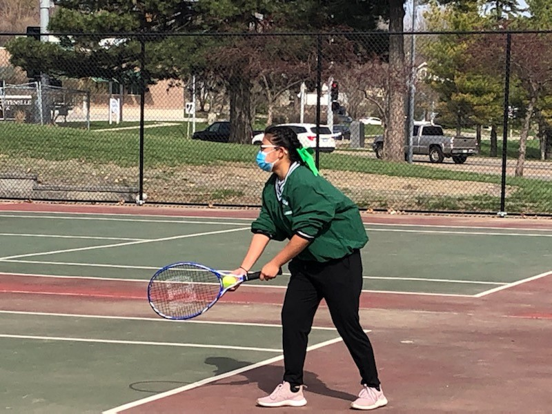 Congrats to our Girls Tennis Team for their win against Omaha North!