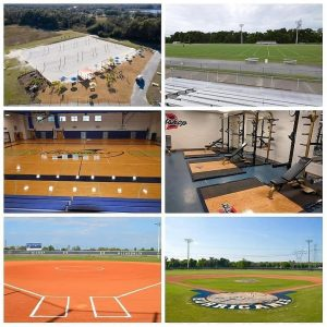 BISHOP ATHLETIC FACILITIES!