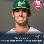 Phillies draft pitcher Carson Ragsdale in 4th round