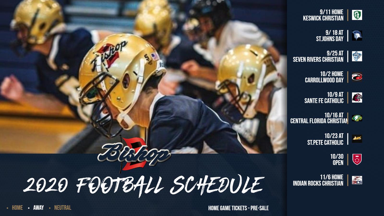 Bishop McLaughlin Catholic football schedule 2020: Games begin Sept. 11!