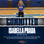 Isabella Prada has committed to play Women's Basketball at Rollins College!