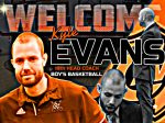 New Boys Basketball Coach: Kyle Evans