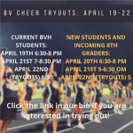 BV Cheer Tryouts 21/22