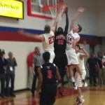Omaha South High School Boys Varsity Basketball beat Millard South High School 60-49