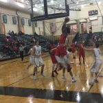 Omaha South High School Boys Varsity Basketball beat Lincoln Southwest High School 77-36
