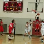 Omaha South High School Boys Junior Varsity Basketball beat Norfolk High School 44-41