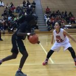 Omaha South High School Girls Varsity Basketball beat Bryan High School 55-38
