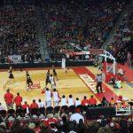 Omaha South High School Boys Varsity Basketball beat Fremont High School 59-50