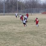 Omaha South High School Girls Varsity Soccer beat Auburn High School 4-0