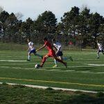 Omaha South High School Boys Junior Varsity Soccer beat Millard North High School 2-0