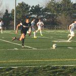 Omaha South High School Boys Varsity Soccer beat Millard North High School 2-1