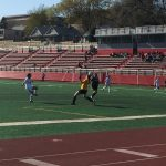Omaha South High School Girls Junior Varsity Soccer beat Bryan High School 4-1