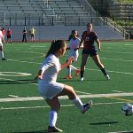 Omaha South High School Girls Varsity Soccer beat Omaha Northwest High School 1-0