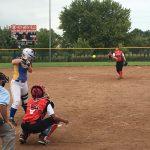 Omaha South High School Varsity Softball beat Omaha North High School 13-2