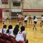 Omaha South High School Girls Varsity Volleyball beat Thomas Jefferson High School 2-1
