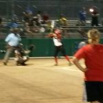 Omaha South High School Varsity Softball beat Omaha North High School 12-4