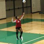 Omaha South High School Girls Freshman Volleyball beat Omaha Benson 2-0