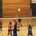 Omaha South High School Girls Freshman Volleyball falls to Bryan High School 2-1