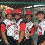 Omaha South High School Varsity Softball beat Bryan High School 14-6