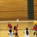 Omaha South High School Girls Varsity Volleyball falls to Omaha North High School 2-1