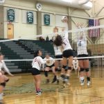 Omaha South High School Girls Varsity Volleyball falls to Lincoln Northeast High School 2-0