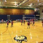 Omaha South High School Girls Freshman Volleyball falls to Omaha Northwest High School 2-0