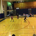 Omaha South High School Girls Freshman Volleyball beat Omaha North High School 2-0
