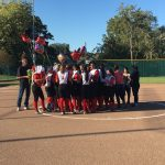 Omaha South High School Varsity Softball falls to Benson High School 12-4