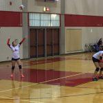 Omaha South High School Girls Junior Varsity Volleyball falls to Benson High School 2-0