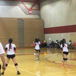 Omaha South High School Girls Junior Varsity Volleyball falls to Marian High School 2-0