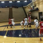 Omaha South High School Boys Junior Varsity Basketball falls to Gretna High School 63-58