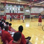 Omaha South High School Boys Varsity Basketball falls to Millard South High School 58-47