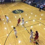 Omaha South High School Girls Varsity Basketball falls to Elkhorn South High School 82-43