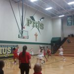 Omaha South High School Girls Varsity Basketball falls to Lincoln Pius X 60-37