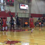 Omaha South High School Boys Varsity Basketball beat Bellevue West Senior High School 52-50