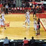 Omaha South High School Boys Varsity Basketball falls to Norfolk High School 53-38
