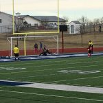 Omaha South High School Girls Varsity Soccer beat Plattsmouth High School 1-0