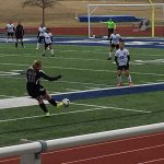 Omaha South High School Girls Varsity Soccer beat Blair High School 2-0