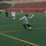 Omaha South High School Girls Sophomore Soccer Reserve falls to Millard West High School 10-0