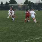 Omaha South High School Girls Sophomore Soccer Reserve falls to Burke High School 1-0