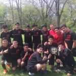 Omaha South High School Boys Sophomore Soccer Reserve beat Roncalli Catholic High School 8-1