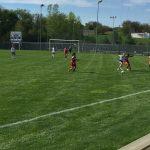Omaha South High School Girls Sophomore Soccer Reserve falls to Marian High School 10-0