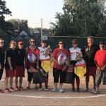 Omaha South High School Varsity Softball falls to Burke High School 12-1