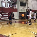 Boys Varsity Basketball falls to Lincoln North Star 54 – 51