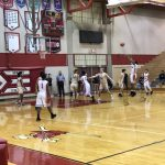 Boys Varsity Basketball falls to Burke 53 – 52
