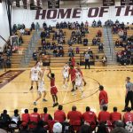 Boys Varsity Basketball falls to Papillion-La Vista 82 – 65